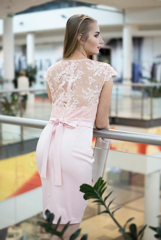 89c87e5af7 LaKey Sara pudrowa sukienka dostawa w 24h. - Sklep online z ...